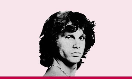 Jim Morrison – Primer músico de rock arrestado arriba del escenario