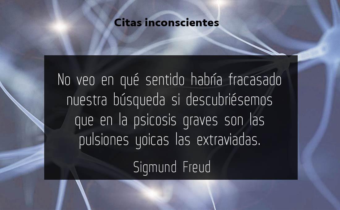 No puedo vivir sin tí - Sigmund Freud