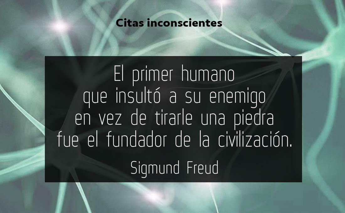 Insultémonos más - Sigmund Freud