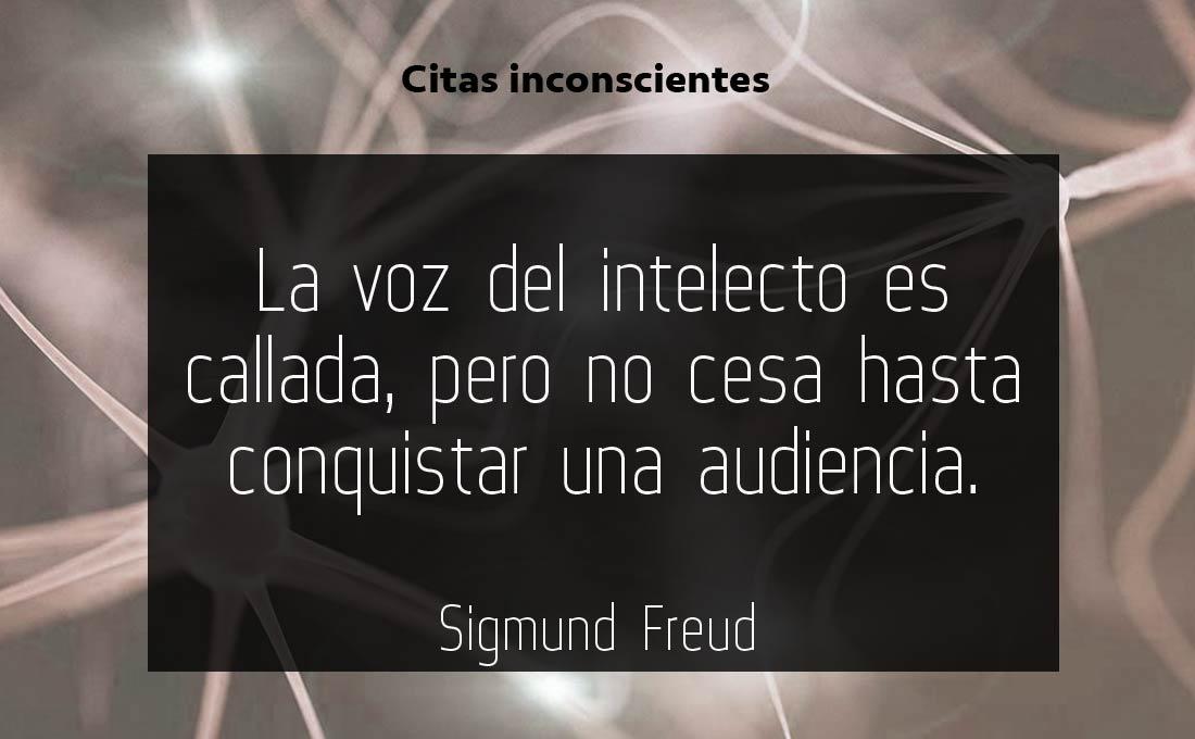 Intelecto perseverante - Sigmund Freud