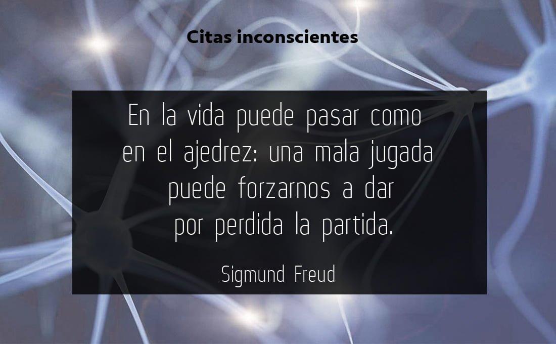 Frase de Sigmund Freud sobre el ajedrez y el juego