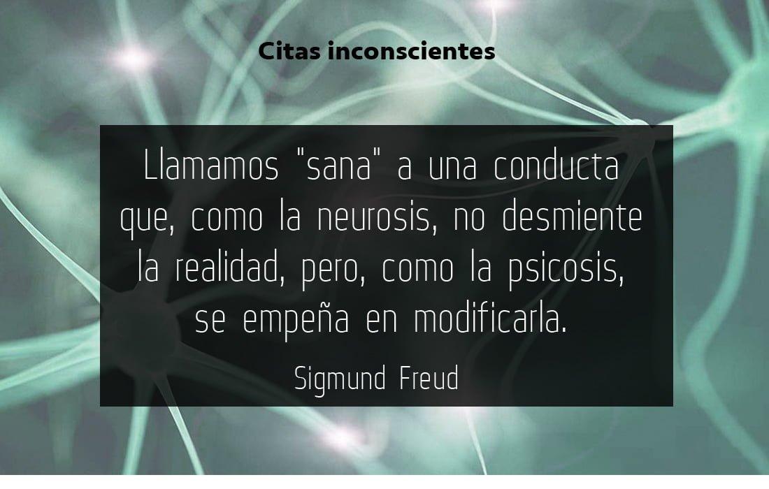 Sana realidad - Sigmund Freud