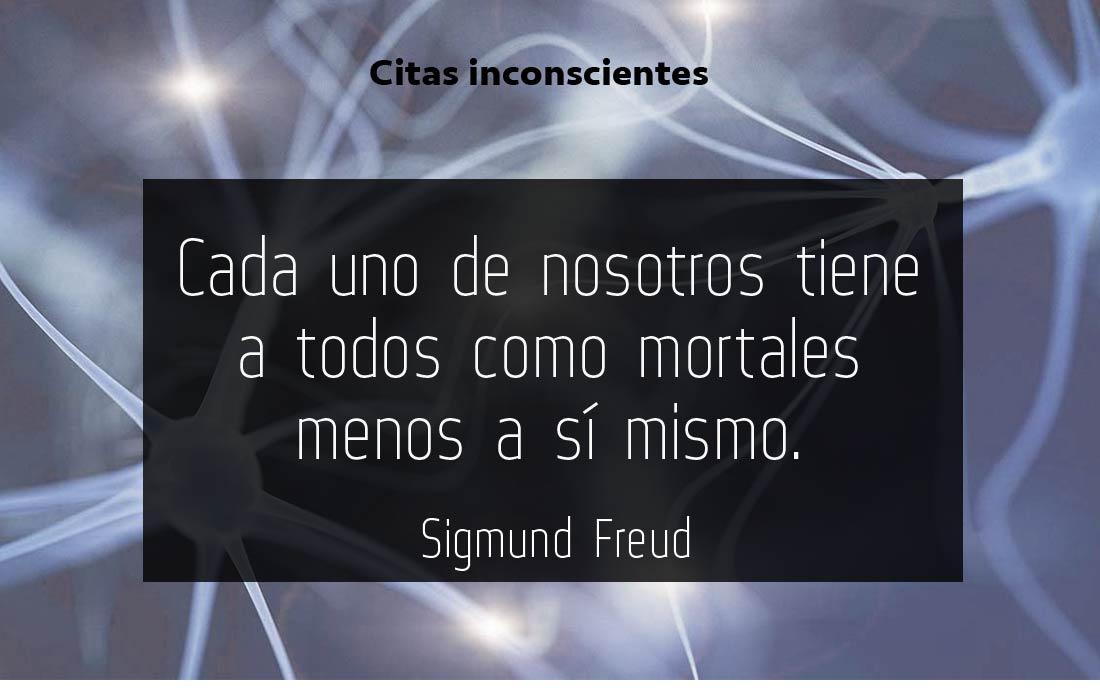 Morir inmortales - Sigmund Freud