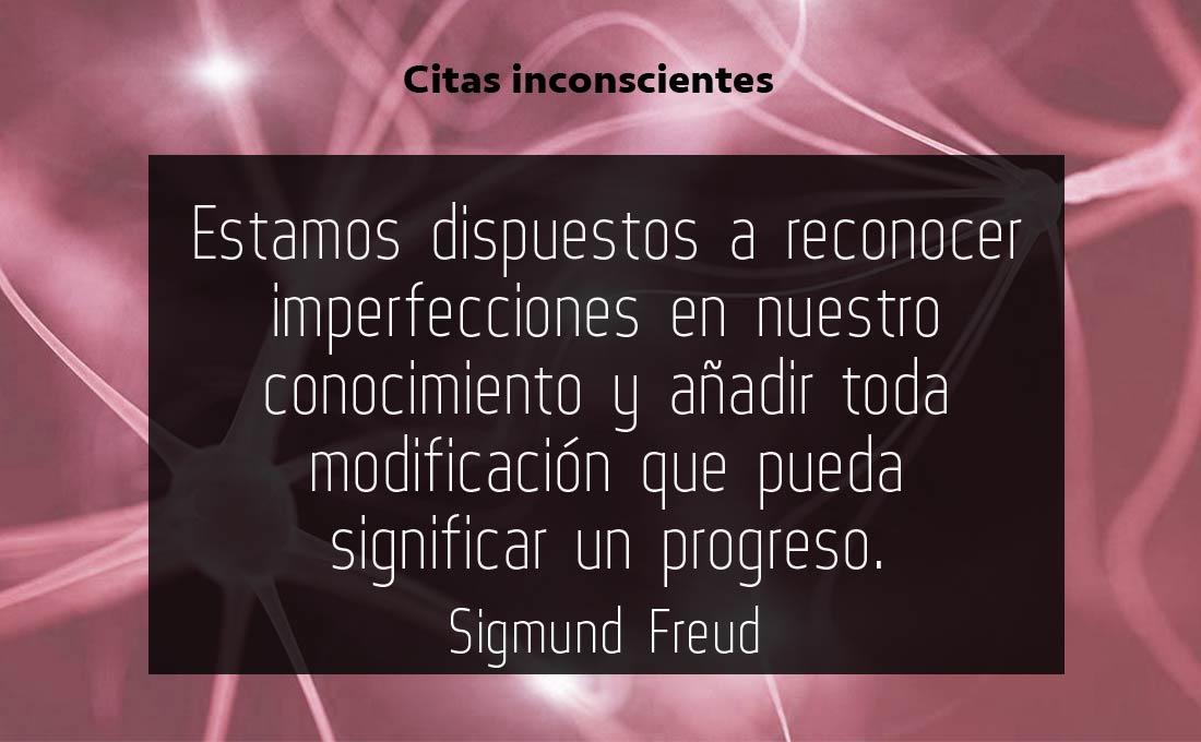 Aprendizaje y progreso - Sigmund Freud