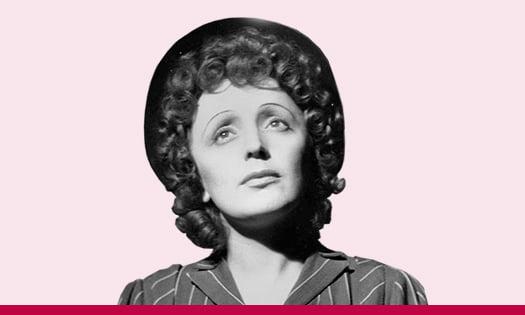 Édith Piaf escapa hacia adelante